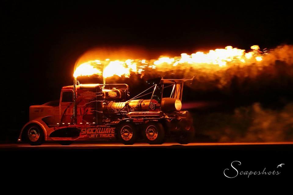Shockwave And Flash Fire Jet Trucks Shockwave