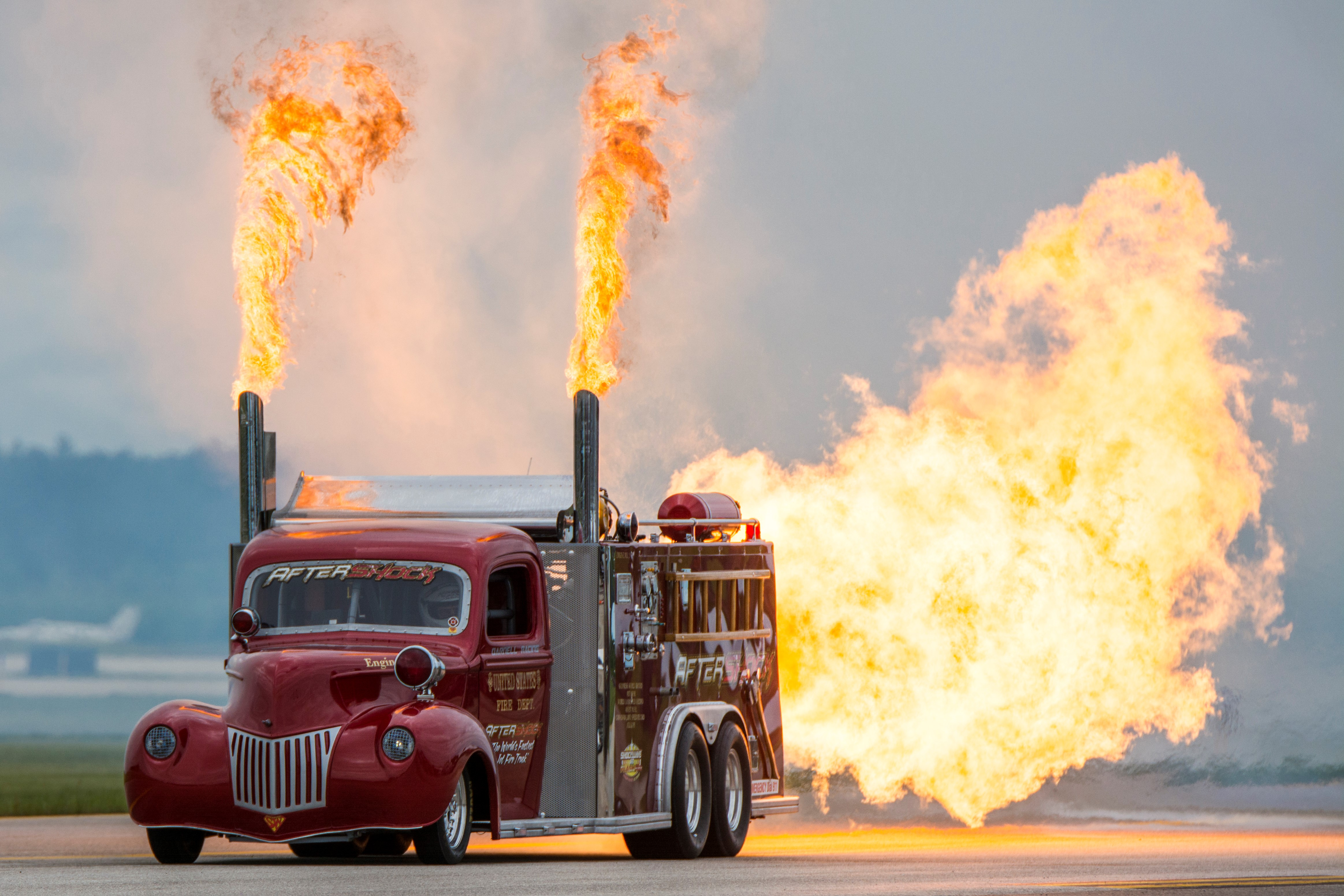 SHOCKWAVE and Flash Fire Jet Trucks - Media Relations